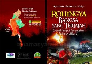 Cover Buku Rohingya Bangsa Yang Terjajah