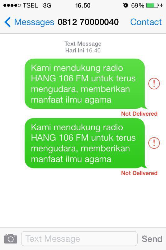 Mohon Dukungan Radio Hang FM (Batam) - YBM