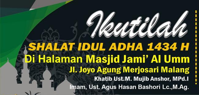 Shalat Idul Adha H