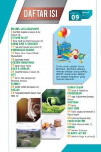 daftar isi majalah al umm 9